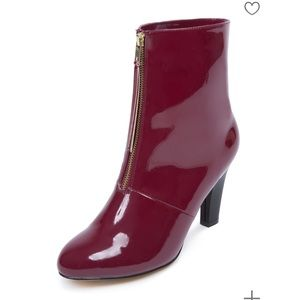 Eloquii zip from boots patent leather size 7